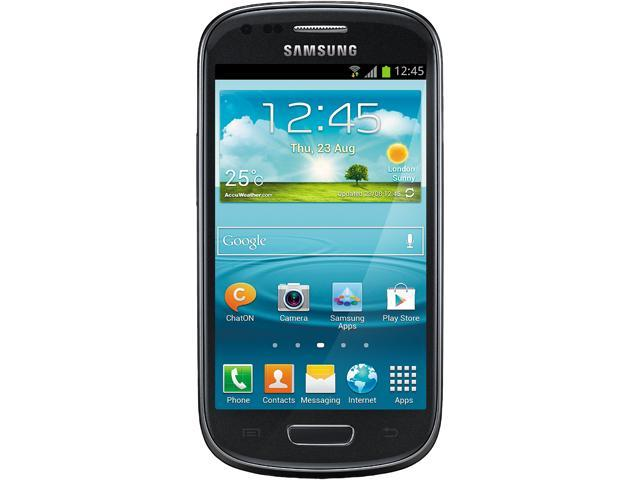 Samsung Galaxy S3 mini i8190 Black 3G 8GB Unlocked Cell Phone