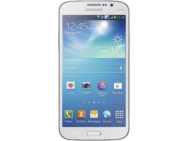 Samsung Galaxy Mega 6.3 GT-I9200 White 3G Unlocked Cell Phone