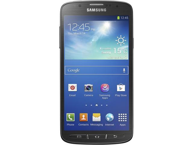 """Samsung Galaxy S4 Active I9295 16 GB (11.2 GB user available), 2 GB RAM Unlocked Cell Phone 5"""" Gray"""