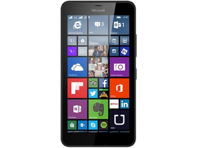 Microsoft Lumia 640 XL RM-1067 Black Unlocked Cell Phone