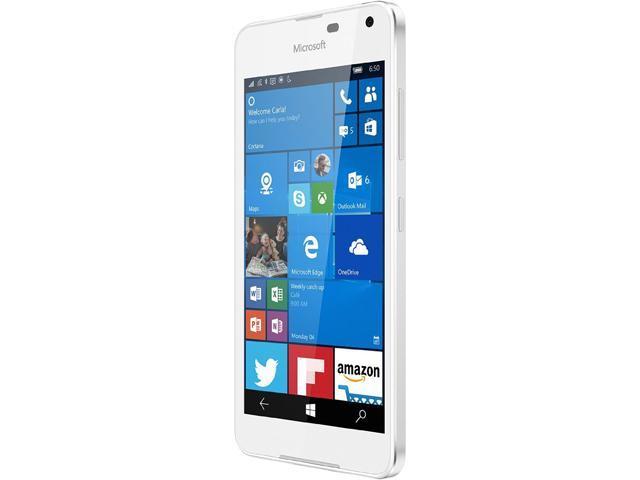 Microsoft LUMIA 650 16GB storage 4G LTE White Unlocked Cell Phone 5