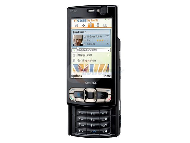 Nokia N95 8G 3G US Version Unlocked CellPhone w/ Wi-Fi, GPS, 5MP Camera, & Carl Zeiss Lens