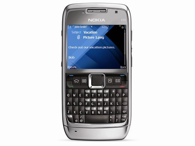 "Nokia E71 110 MB internal dynamic memory Unlocked GSM Bar Phone with Full QWERTY Keyboard 2.36"" Gray"