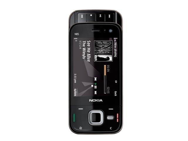Nokia N85 Black unlocked 3G GSM Slider phone with 5MP camera
