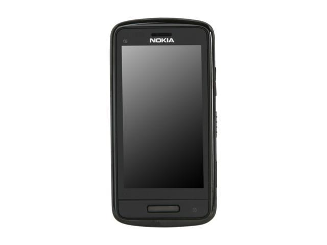 """Nokia C6-01 340 MB Unlocked GSM Smart Phone with 3.2"""" AMOLED Touch Screen, 8MP Camera & Wi-Fi 3.2"""" Black"""