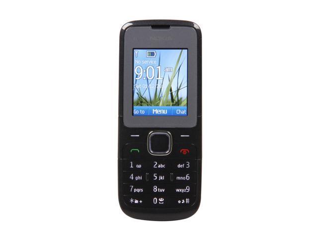 Nokia C1-01 Dark Gray Unlocked GSM Bar Phone / Camera ...