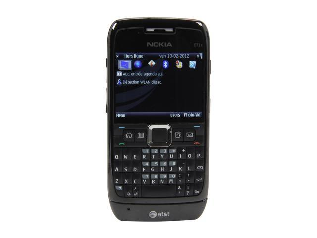 Nokia E71x Black 3G Unlocked GSM Bar Phone w/ QWERTY Keyboard / Wi-Fi / GPS (E71x)