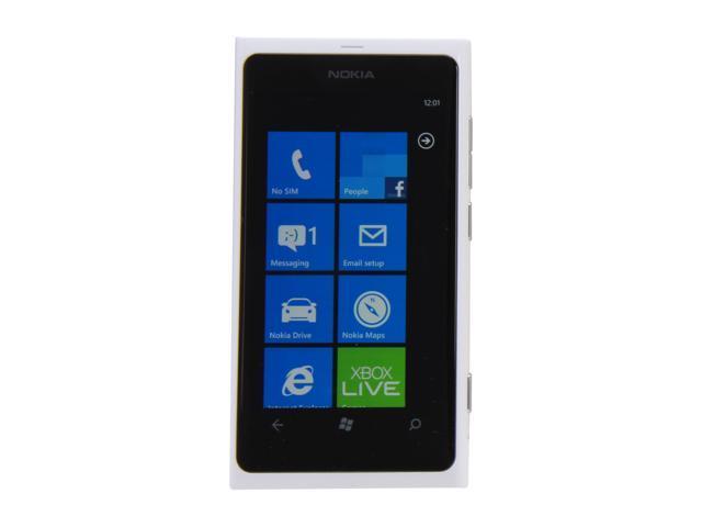 Nokia Lumia 800 White 3G Unlocked GSM Windows 7.5 OS Cell Phone
