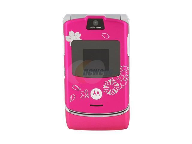 Motorola RAZR unlocked GSM cell phone with stylish design (V3)