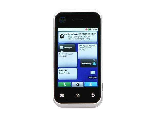 "Motorola BACKFLIP 256MB RAM, 512MB ROM Unlocked GSM Smart Phone w/ 3.1"" Touch Screen / Full QWERTY Keyboard 3.1"" Black - OEM"