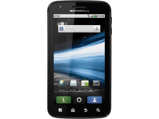 Motorola Atrix 4G Black Unlocked GSM Smart Phone w/ Android OS / 5MP Camera / Wi-Fi Hotspot