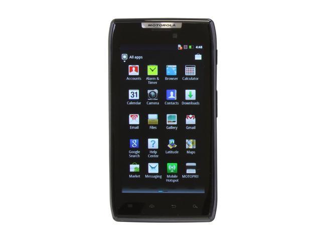 Motorola RAZR Black 3G Unlocked Unlocked GSM Smart Phone w/ Android OS 2.3.5 / Wi-Fi / 4.3