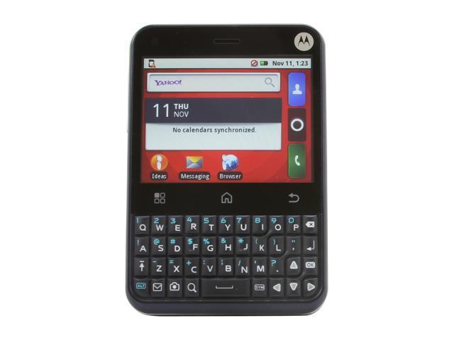 "Motorola CHARM MB502 512MB RAM&#59; 512 MB storage Unlocked GSM Phone w/ Android 2.1 / 3 MP Camera / Wi-Fi 2.8"" Blue"