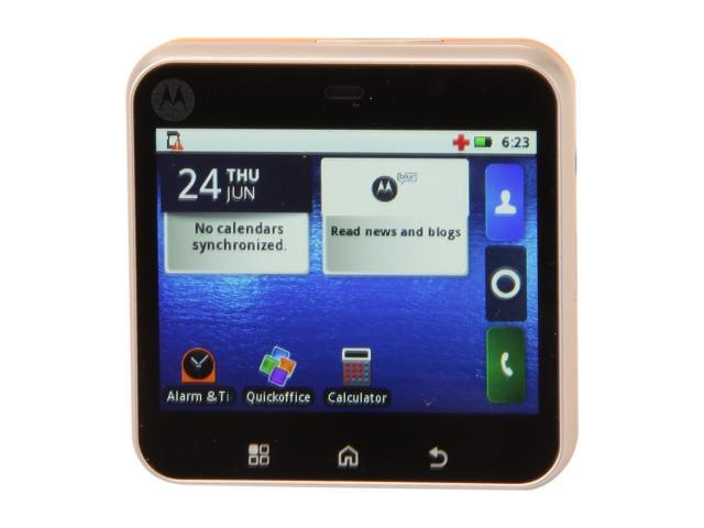 Motorola Flipout MB511 Orange 3G Unlocked GSM Smart Phone w/ Android 2.1 / Bluetooth 2.1 / GPRS / WiFi / QWERTZ keyboard