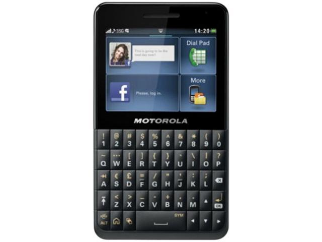Motorola EX226 Black QWERTY Keyboard Wi-Fi FM Radio Camera Bluetooth Dual-SIM Unlocked GSM Cell Phone