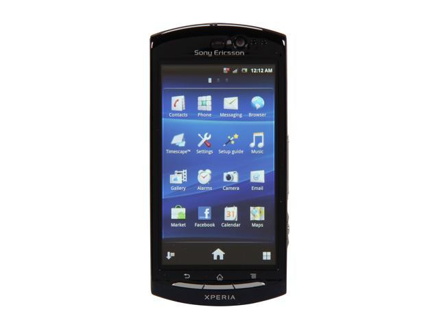 Sony Ericsson Xperia neo Blue 3G Unlocked GSM Android OS Smart Phone w/ Front-Facing Camera / Reality Display (MT15a)