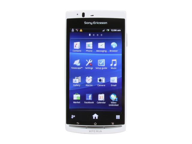 Sony Ericsson Xperia Arc S White 3G Unlocked GSM Android Smart Phone w/ Android OS 2.3 / Wi-Fi / 4.2