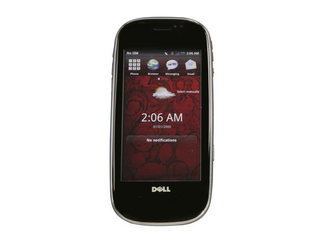 Dell AERO Black 3G Unlocked Cell Phone w/ Android OS / 5MP Camera / GPS