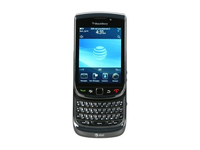 BlackBerry Torch Black 3G Unlocked GSM Smart Phone with Touch Screen & Full QWERTY Keyboard (9800)