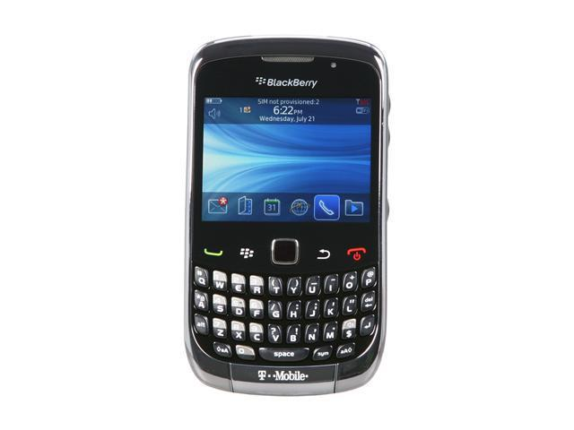 "BlackBerry Curve 3G 9300 256 MB RAM, 256 MB ROM Unlocked GSM Smart Phone with Wi-Fi / Blackberry Messenger 2.46"" Titanium"