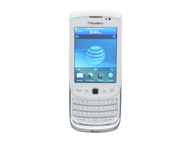 BlackBerry Torch White 3G Unlocked GSM Smart Phone w/ Full QWERTY Keyboard / Wi-Fi / 5 MP Camera (9810)