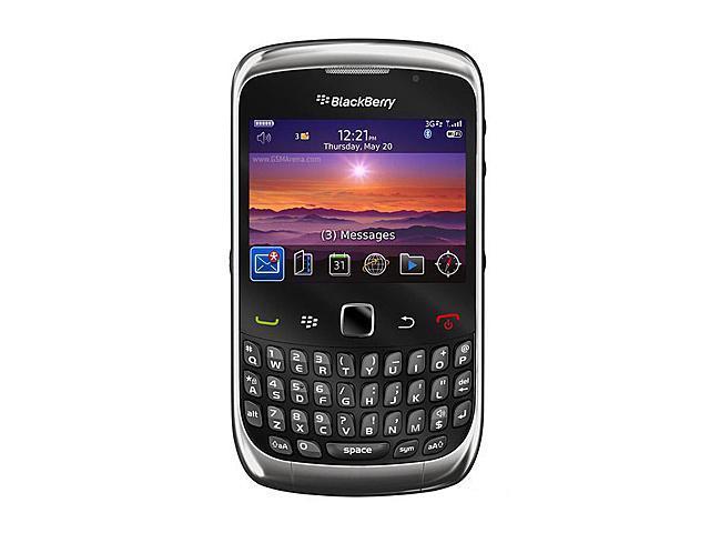 "BlackBerry Curve 3G 9300 256 MB RAM, 256 MB ROM Unlocked GSM Blackberry OS Phone w/ Wi-Fi / Blackberry OS 6.0 2.46"" Black"