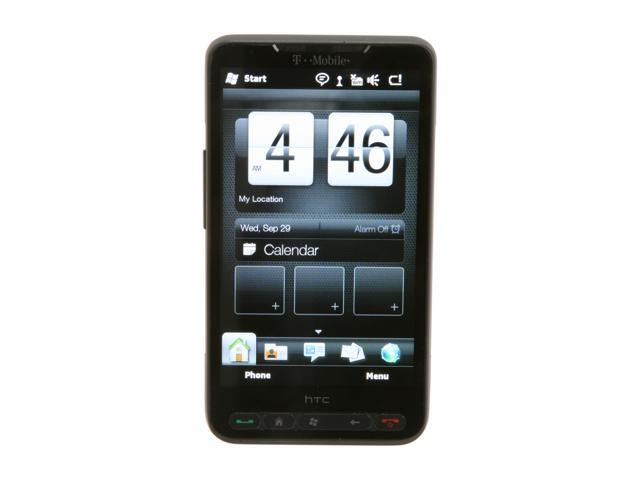 HTC HD2 Black Unlocked GSM Smart Phone w/ Windows Mobile OS / 1GHz Snapdragon CPU / 4.3