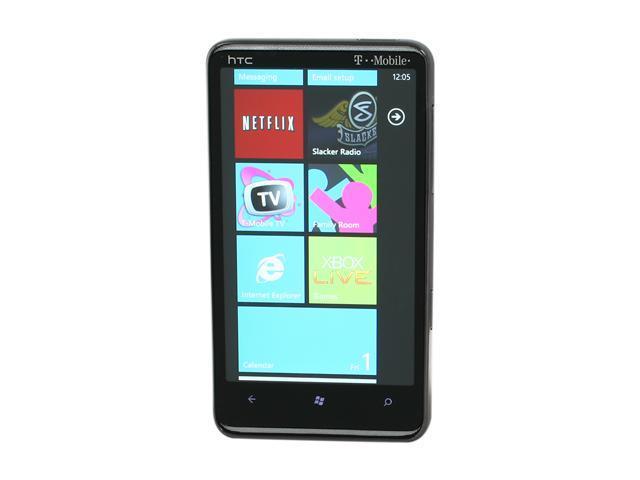 HTC HD7 16GB Black 3G Smart Phone w/ Windows Phone 7 / 5MP Camera / Netflix Support / GPS / Wi-Fi / Bluetooth v2.1 (T9292)