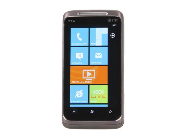 HTC Surround Gray 3G Unlocked Cell Phone w/ Window Phone 7 / Wi-Fi / GPS / 3.8