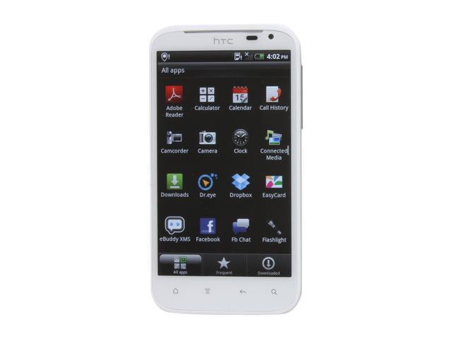 "HTC Sensation XL 16 GB storage, 768 MB RAM Unlocked GSM Smart Phone / 8 MP Camera / 16 GB Storage 4.7"" White"
