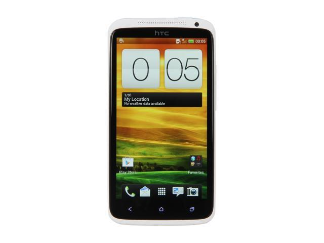 HTC One X White 3G Unlocked Android GSM Smart Phone w/ Quad-Core 1.5GHz / 32GB Storage, 1GB RAM / Super IPS LCD2 Capacitive Touchscreen