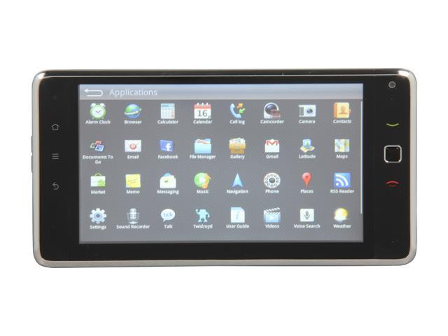 Huawei IDEOS Black Tablet GSM Android Smart Phone w/ Android 2.1 / 7