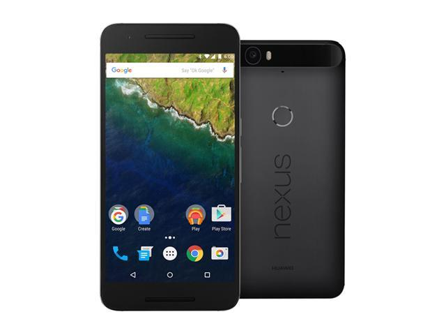 Nexus 6P 64 GB Graphite LTE Unlocked Smartphone  (North America Warranty)