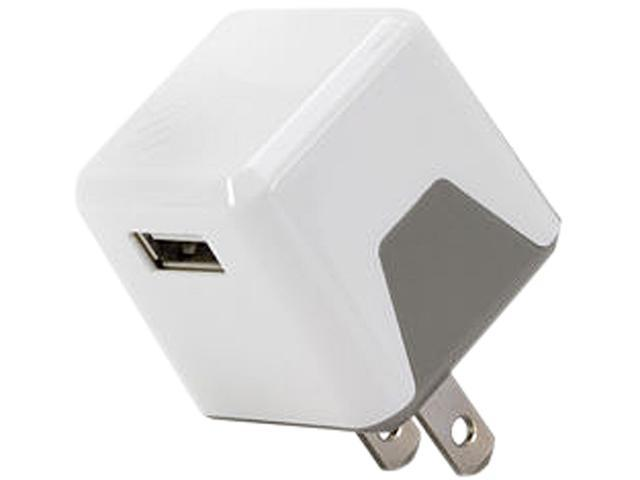 SCOSCHE USBH121WT superCUBE flip White 12 Watt USB Wall Charger