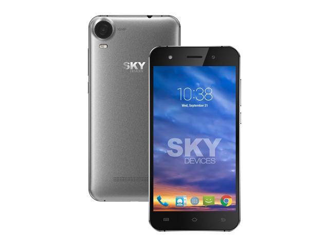 SKY Devices. Elite PhotoPro -Unlocked GMS, HD, 5 in. 4G LTE, Camera of 16MP rear, 13MP front-