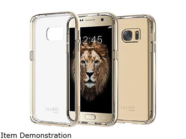 Scottii Luxurii Clear Champagne Gold Case for Galaxy S7 SCCGS7CG1R