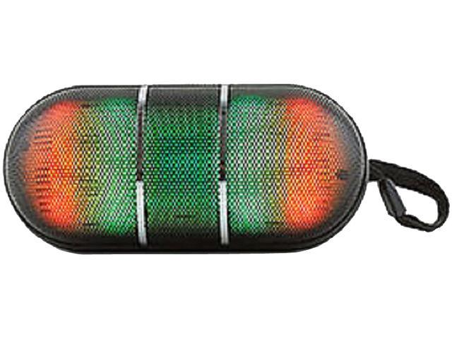 CycloneSound BOLTJRBK Black Bolt Jr. Flashing Bluetooth Speaker