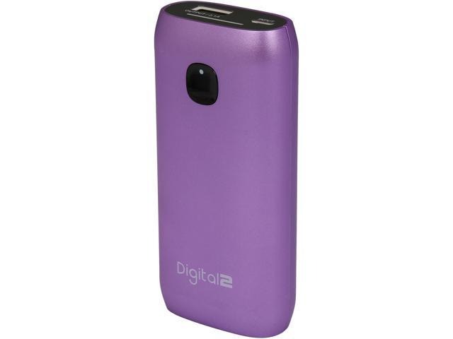 Digital2 Metallic Purple 4400 mAh Portable Battery RP-4400F_MPL