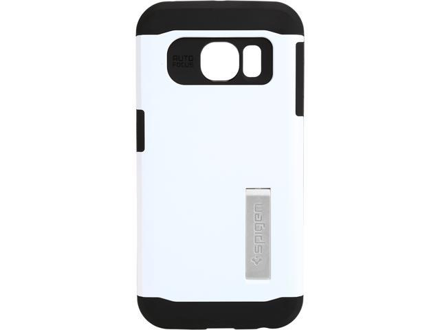 Spigen Slim Armor Shimmery White Case for Galaxy S6 Edge SGP11424