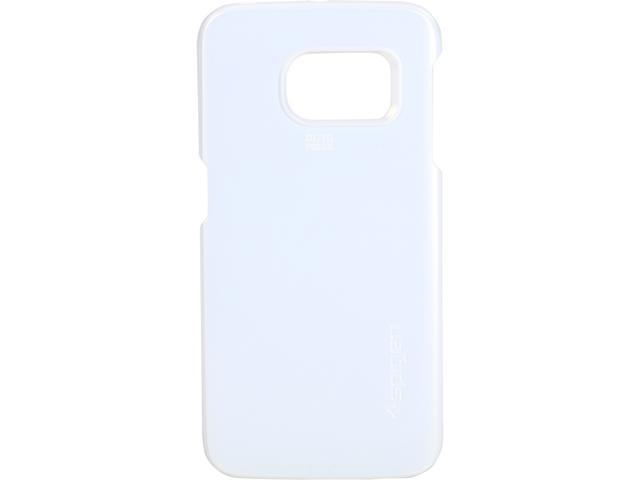 Spigen Thin Fit Shimmery White Case for Galaxy S6 Edge SGP11467