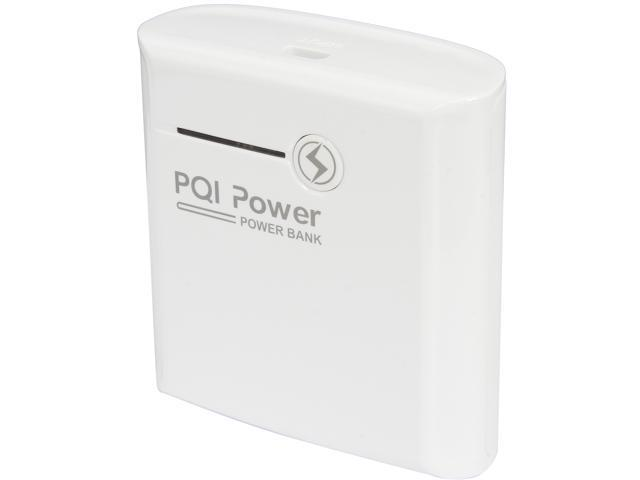 PQI White 5200 mAh Power Bank i-Power 5200