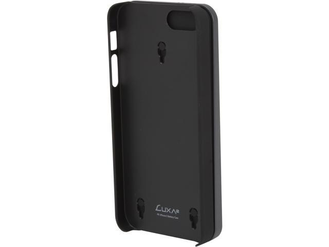 Luxa2 Black 2500 mAh P3 2500mAh Power Bank with Snap-on Case for iPhone 5 PO-UNP-PCP3BK-00