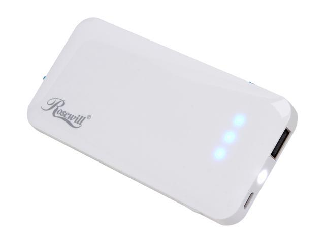 Backup Battery Charger iPhone iPod Smartphone 3500mAh Rosewill