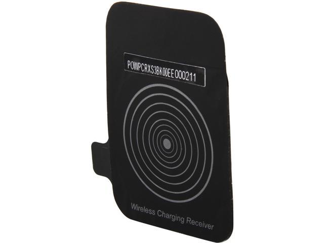 Luxa2 Black Wireless charger receiver works with QI standard wireless charger for Samsung Galaxy S3 PO-WPC-RXS3BK-00