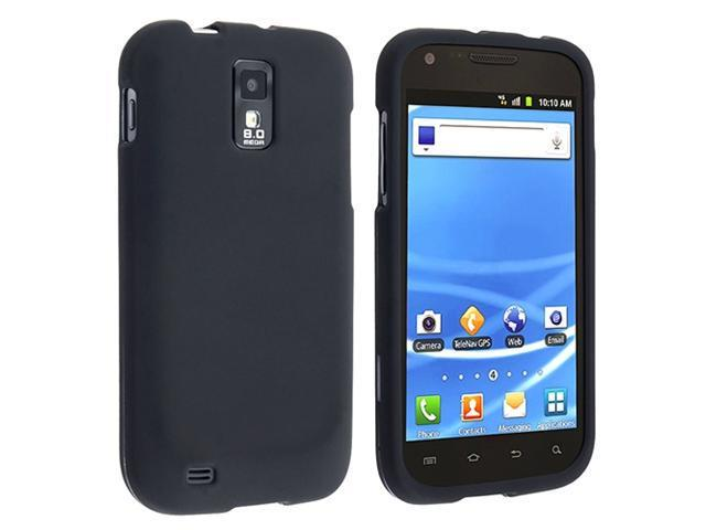 Insten 5 Rubber Hard Case Cover + Screen Protector For Samsung Galaxy S2 T989 T-Mobile