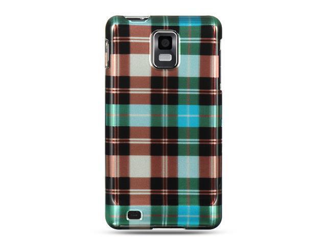 Luxmo Blue Blue Checker Design Case & Covers Samsung Infuse 4G I997