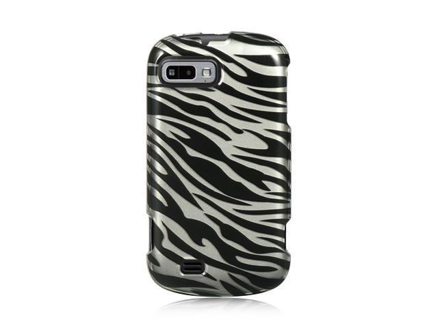 ZTE Fury Silver Zebra Design Crystal Case