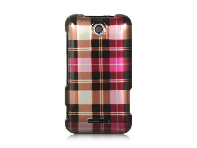 Luxmo Hot Pink Hot Pink Checker Design Case & Covers ZTE Score M X500M