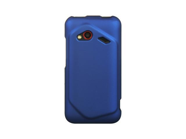 HTC Droid Incredible 4G LTE Blue Crystal Rubberized Case