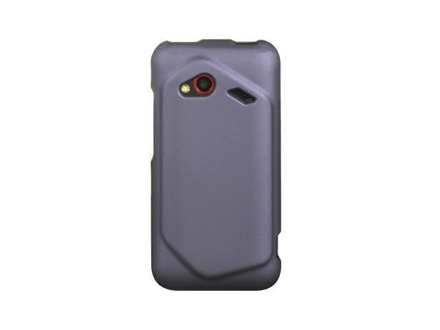HTC Droid Incredible 4G LTE Purple Crystal Rubberized Case